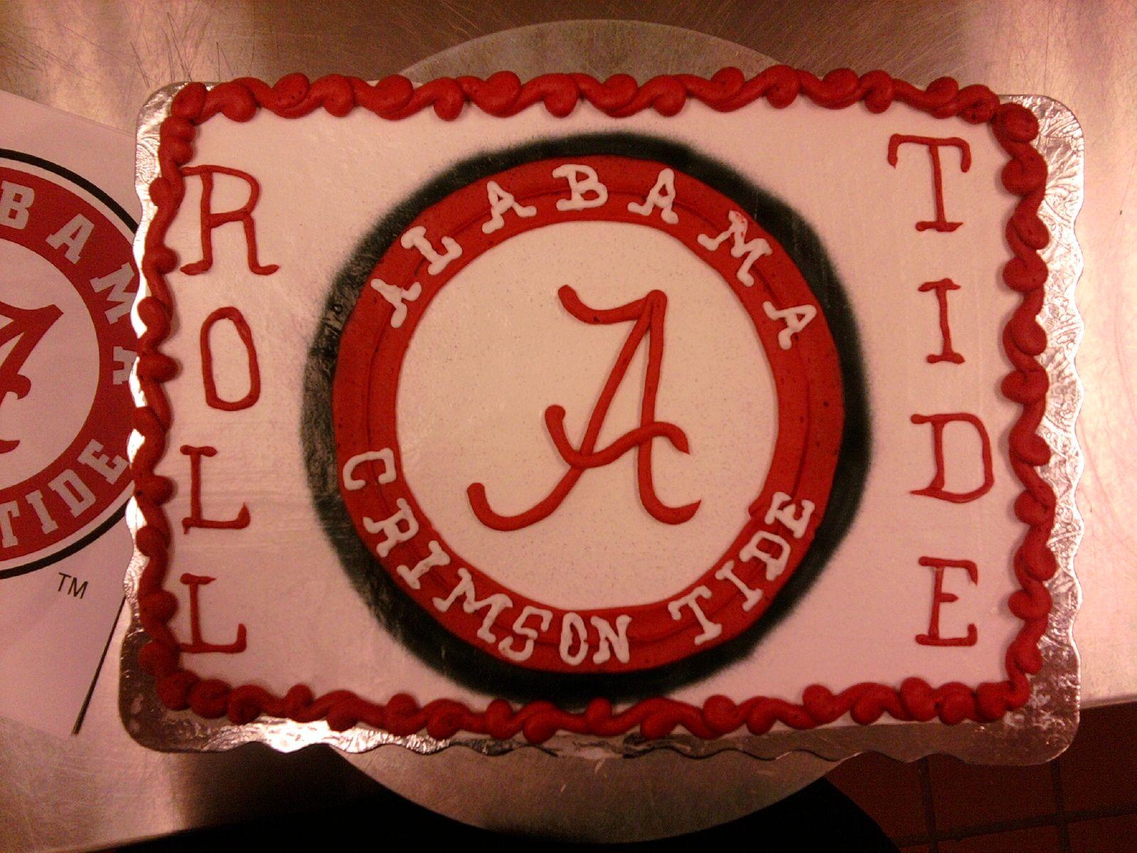Alabama Cake Birthday Ideas Pinterest