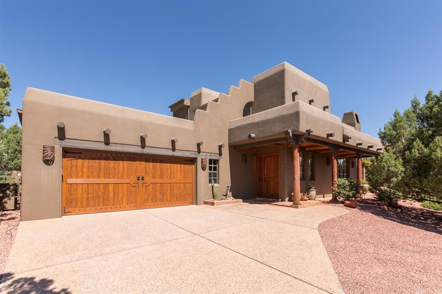 Small Pueblo Style House Plans