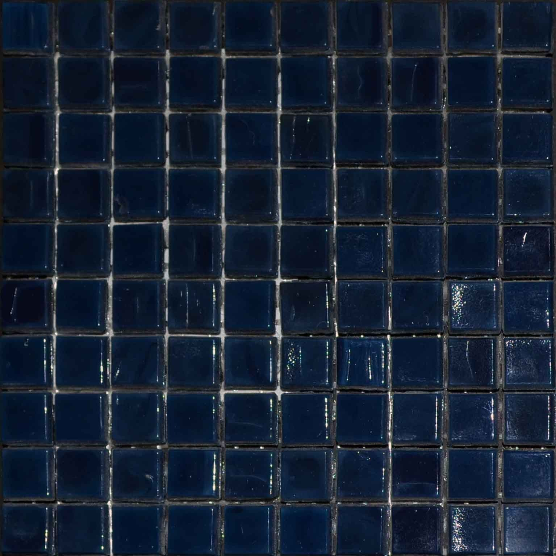 mosaic plain sheet navy blue mosaic