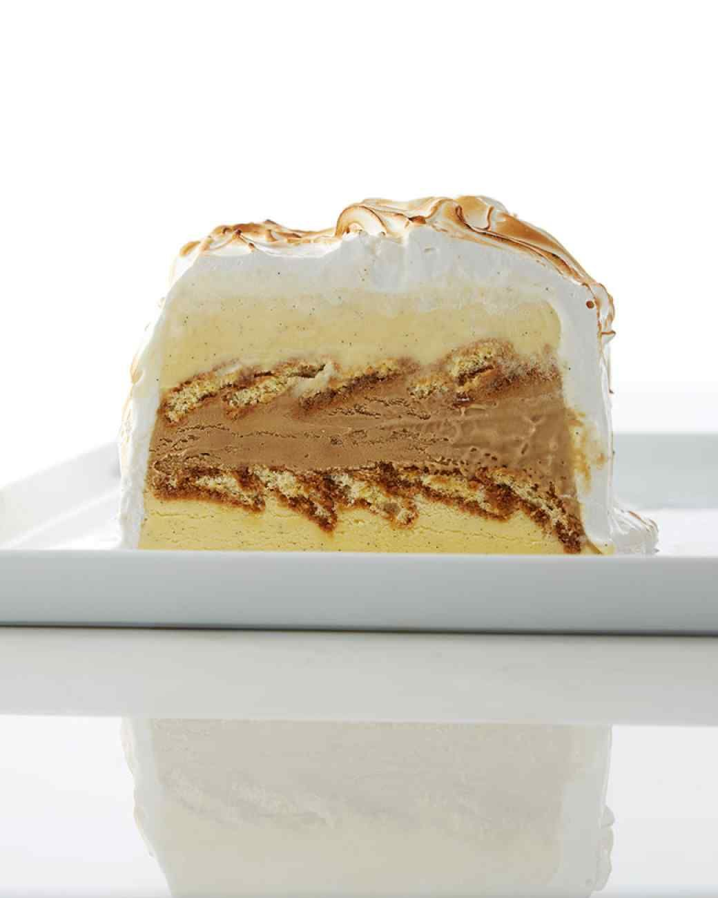Martha Bakes Tiramisu Ice Cream Cake