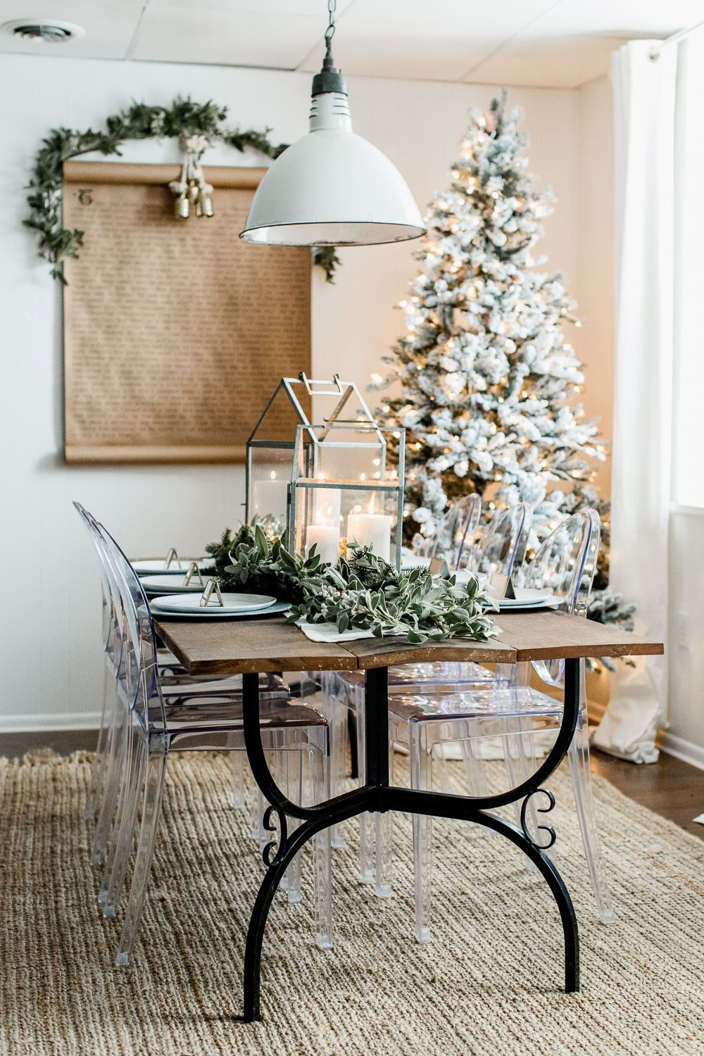 Christmas Hearth.Hearth Hand With Magnolia Christmas Tablescape