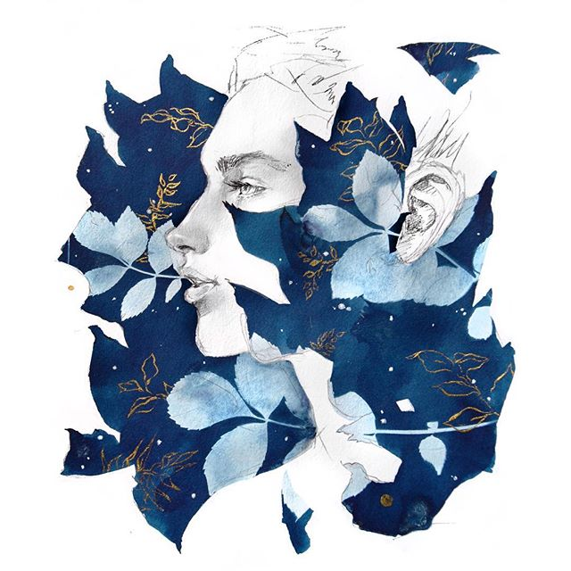"""Shay O'Donnell on Instagram: """"More cyanotype fun! 🍃 ️💧 ..."""