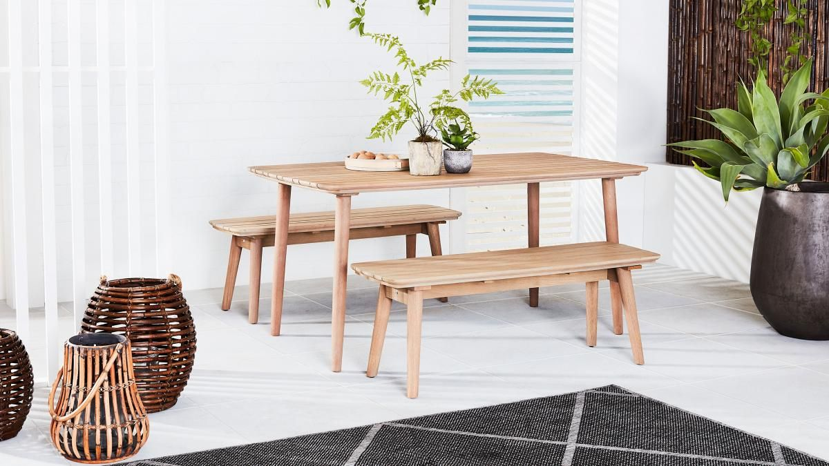 Incredible Buy Rowley Outdoor Bench Domayne Au Balcony In 2019 Gmtry Best Dining Table And Chair Ideas Images Gmtryco