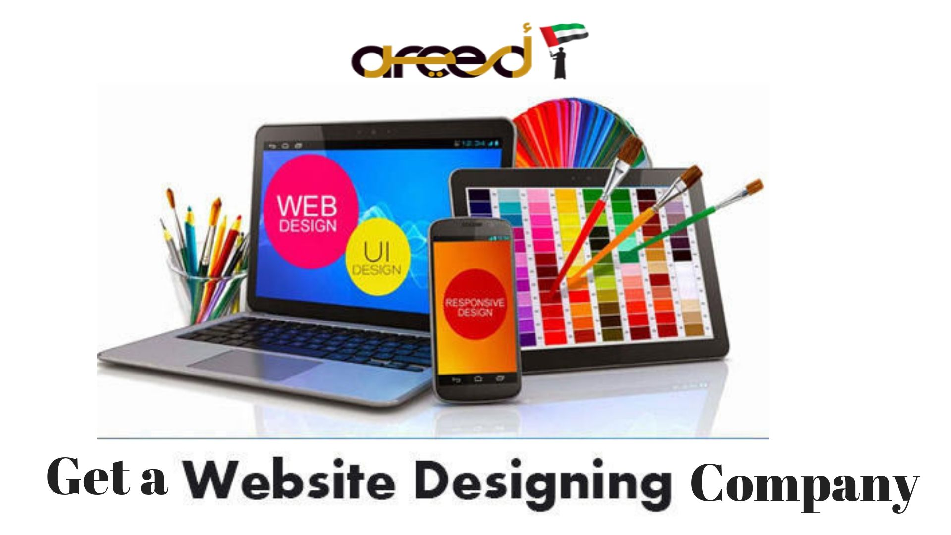 Top Web Design Company In Abu Dhabi Dubai And Uae Areed It Services Web Design Tools Web Design Services Web Design