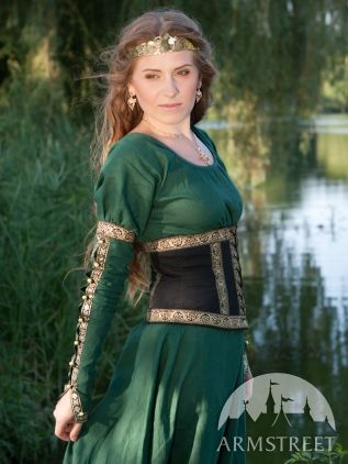 Medieval Dress With Belt from Armstreet. I love all the detail in the sleeves.  sc 1 st  Pinterest & Medieval Dress With Belt from Armstreet. I love all the detail in ...