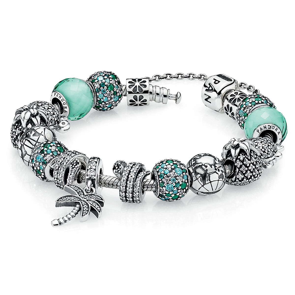 PANDORA Caribbean Cool Charm Bracelet - I can practically ...