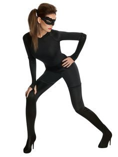 easy cat women costume - Google Search  sc 1 st  Pinterest : homemade cat woman costume  - Germanpascual.Com