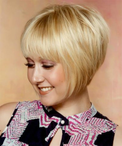 Very Short Concave Bob For Anyone Who Is Bored With The Old Style Golden Blonde Hair Color Golden Blonde Hair Bob Hairstyles