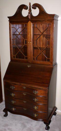Mahogany Antique Secretary Antique Bedroom Furniture
