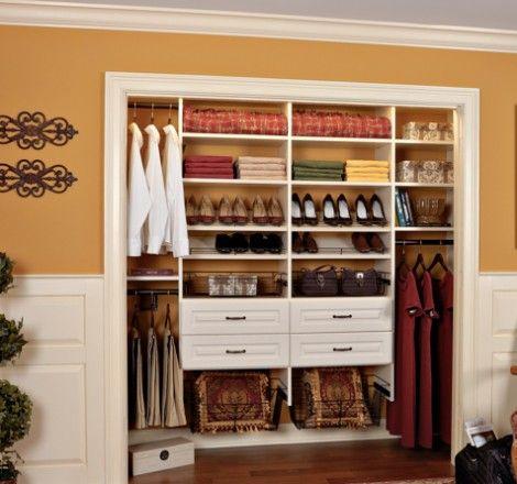 Great Built In Bedroom Closets | Bedroom Closet Design VT | Custom Bedroom Closets  Vermont