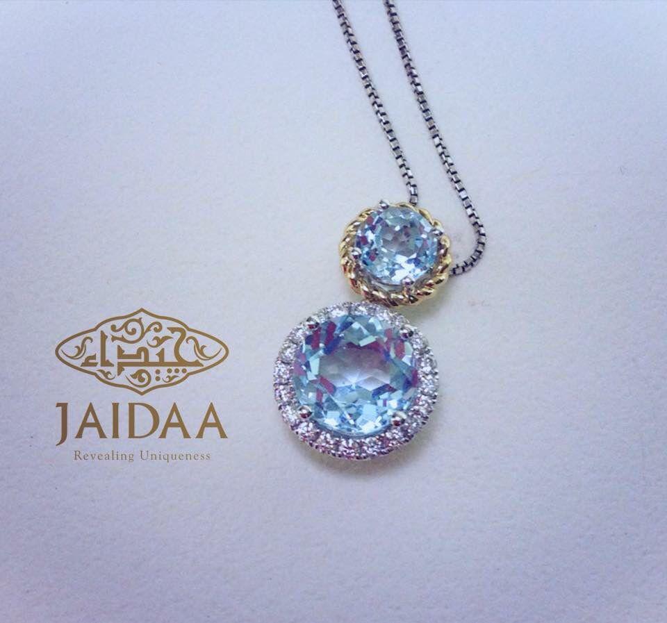 Gold#diamond#aqua marine# JAIDAA.. Revealing Uniqueness