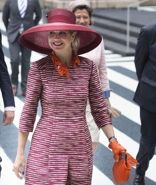Europe's Royals — allroyalwatchers:   Queen Maxima and Mathilde...