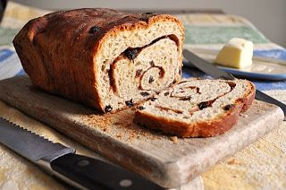 Little B Cooks: Chronicles from a Vermont foodie: Yeast Breads- Cinnamon Raisin Bread