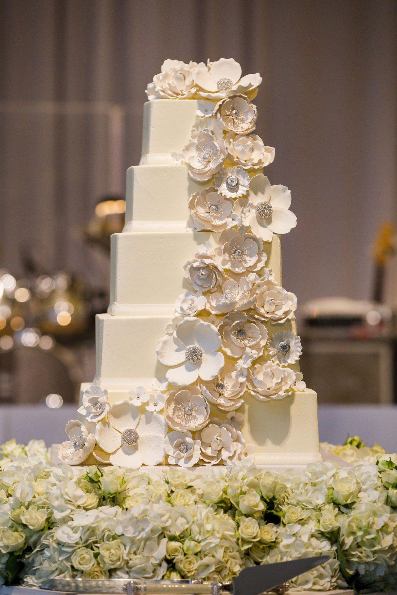 Pin On Cake 5 Tier Wedding Cakes