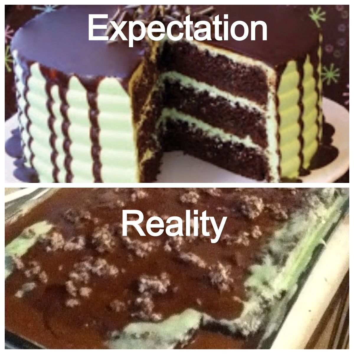 Nailed it! Pinterest fail. Our awesome creation gone