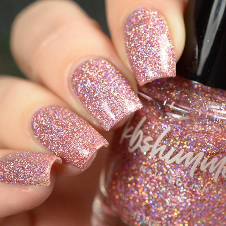Turning Pointe Mega Flame Glitter Nail Polish by K