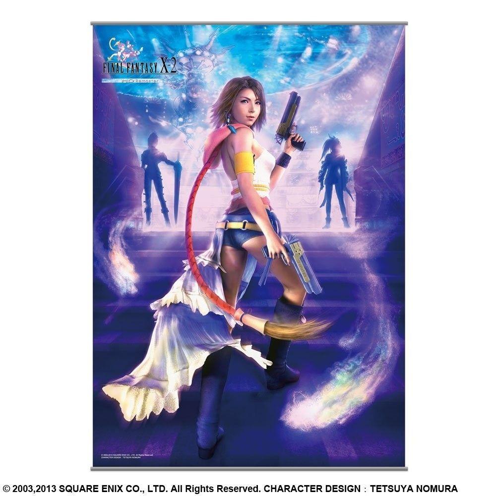 Final Fantasy X 2 Hd Remaster Wall Scroll Yuna Final Fantasy Final Fantasy Wallpaper Hd Final Fantasy X