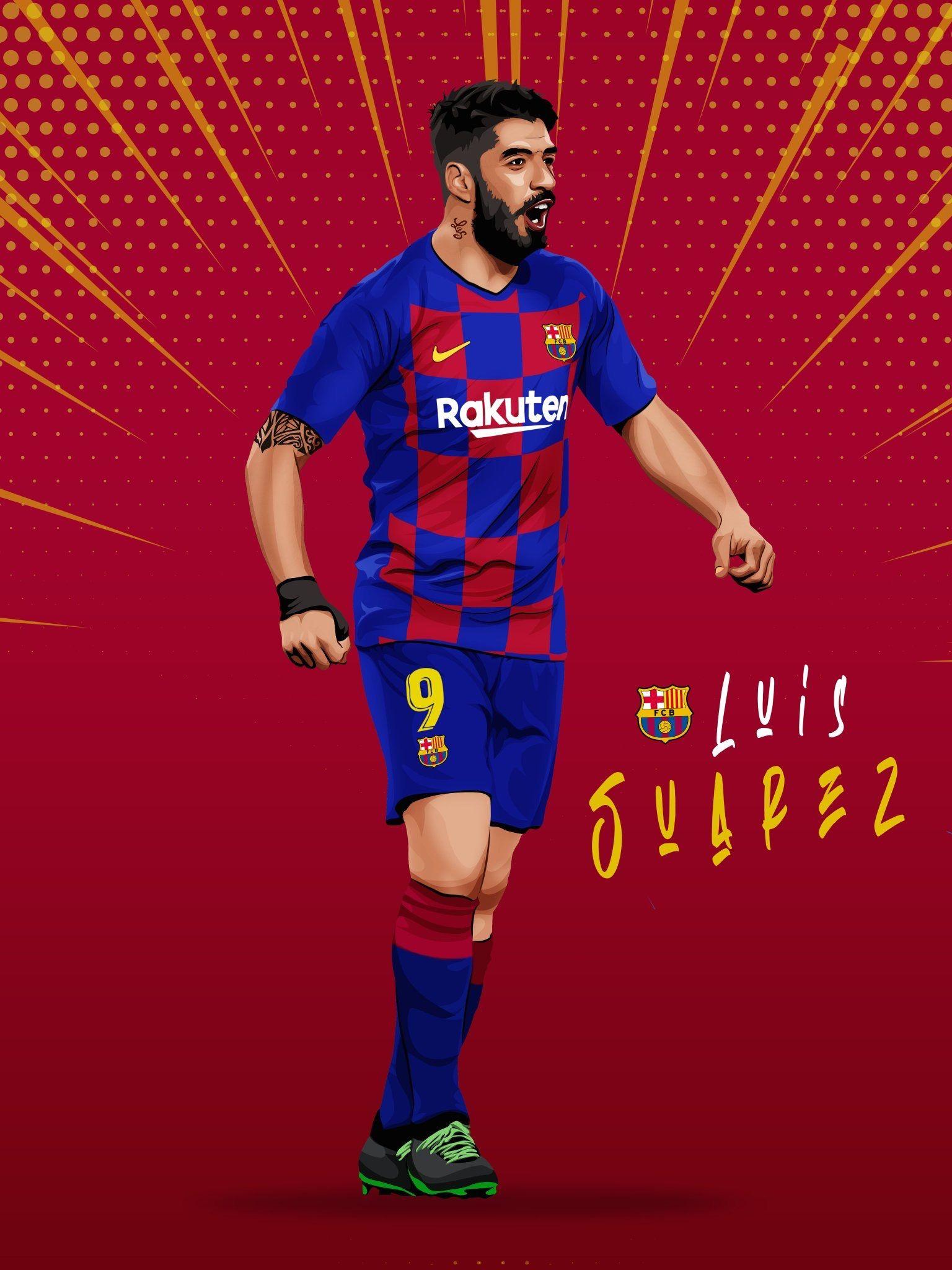 Pin De Alexis En Barcelona Illustration Futbol De Barcelona Jugadores De Futbol Visca Barca