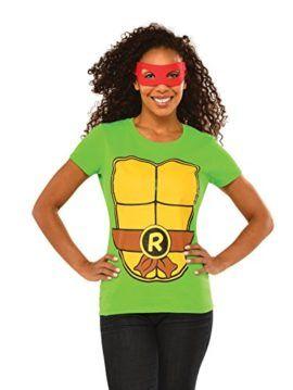 Tmnt womens raphael costume top