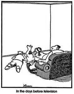 Gary Larson The Far Side In The Days Before Television Funny Pics The Far Side