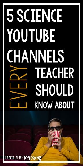 If you teach science then you need to check out this blog post for 5 YouTube channels you can use in your classroom. From physical to earth science, you will find something to keep your students engaged and excited about learning. There's even a cha