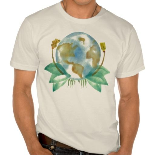 Mother Earth: Clean Her Up Organic T-Shirts