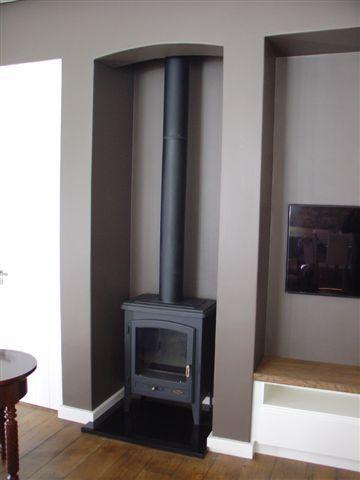 Godin Ecoval Freestanding Stove Fireplace Home Decor