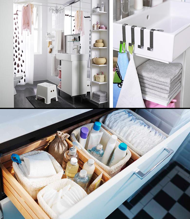 Ideas para organizar tu cuarto de baño | Great ideas (Muy buenas ...