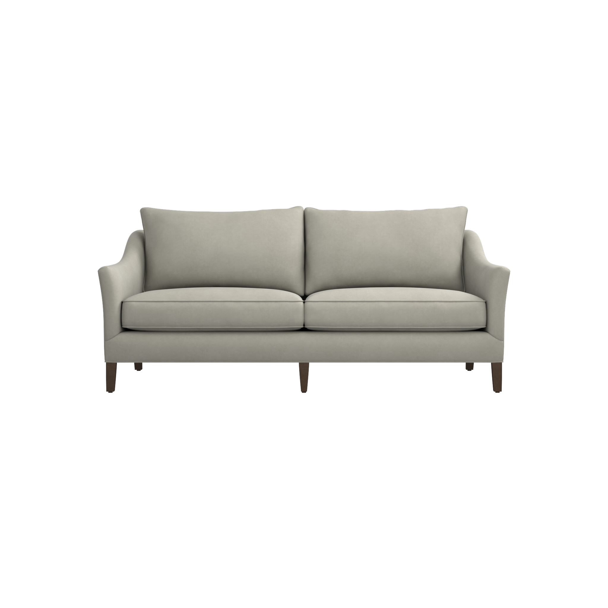 Shop Keely Apartment Sofa. Sophisticated And Durable, This Smaller Scale  Sofa Strikes The
