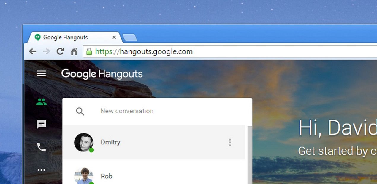 How to organise your google hangouts just like email