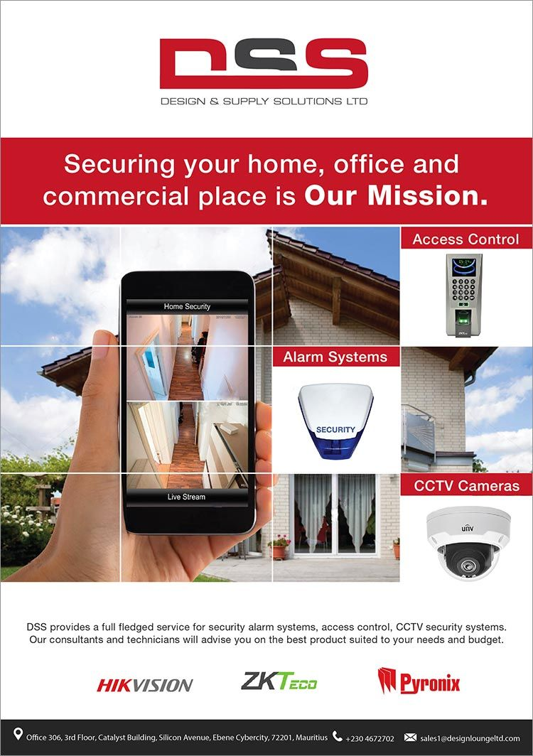 Pin By Bluefish Emarketing Mauritius On Industrial And Commercials Cctv Security Systems Online Marketing Design Home Security Alarm System