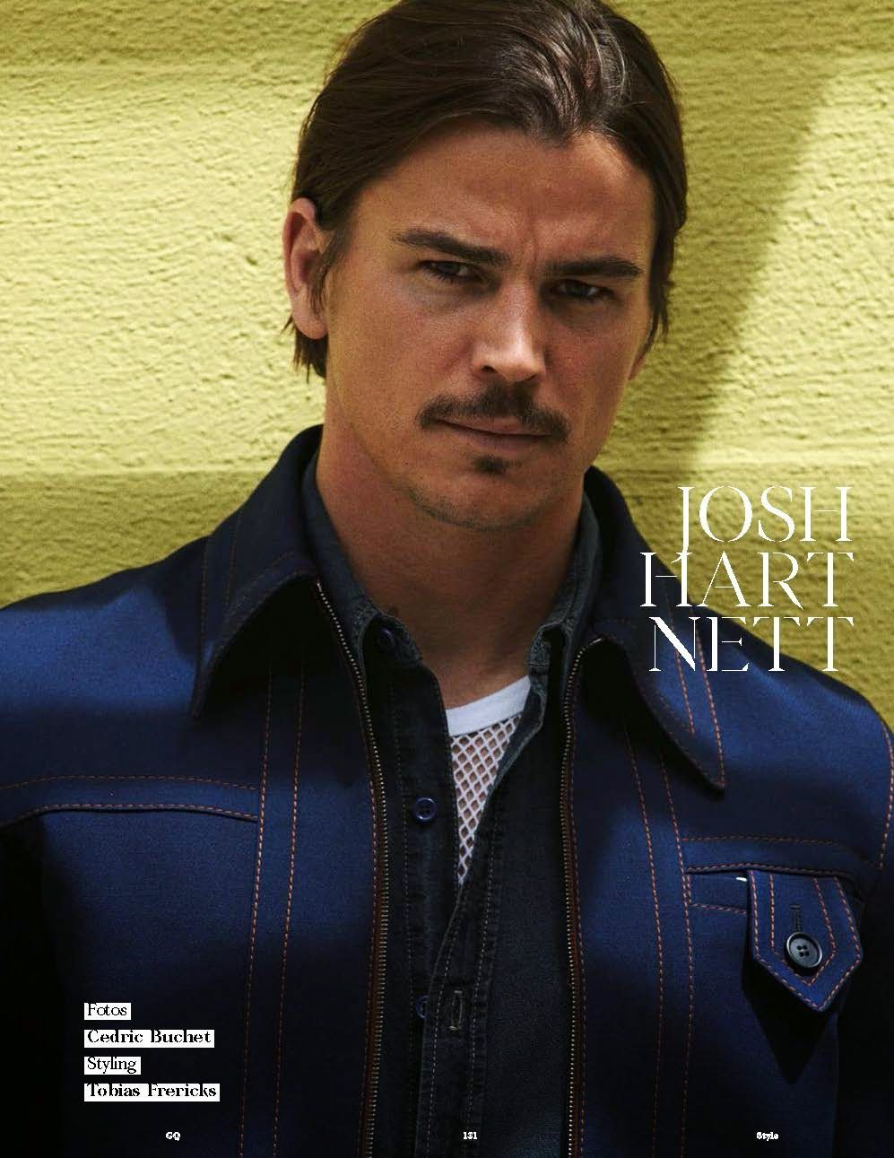 Josh Hartnett for GQ Style