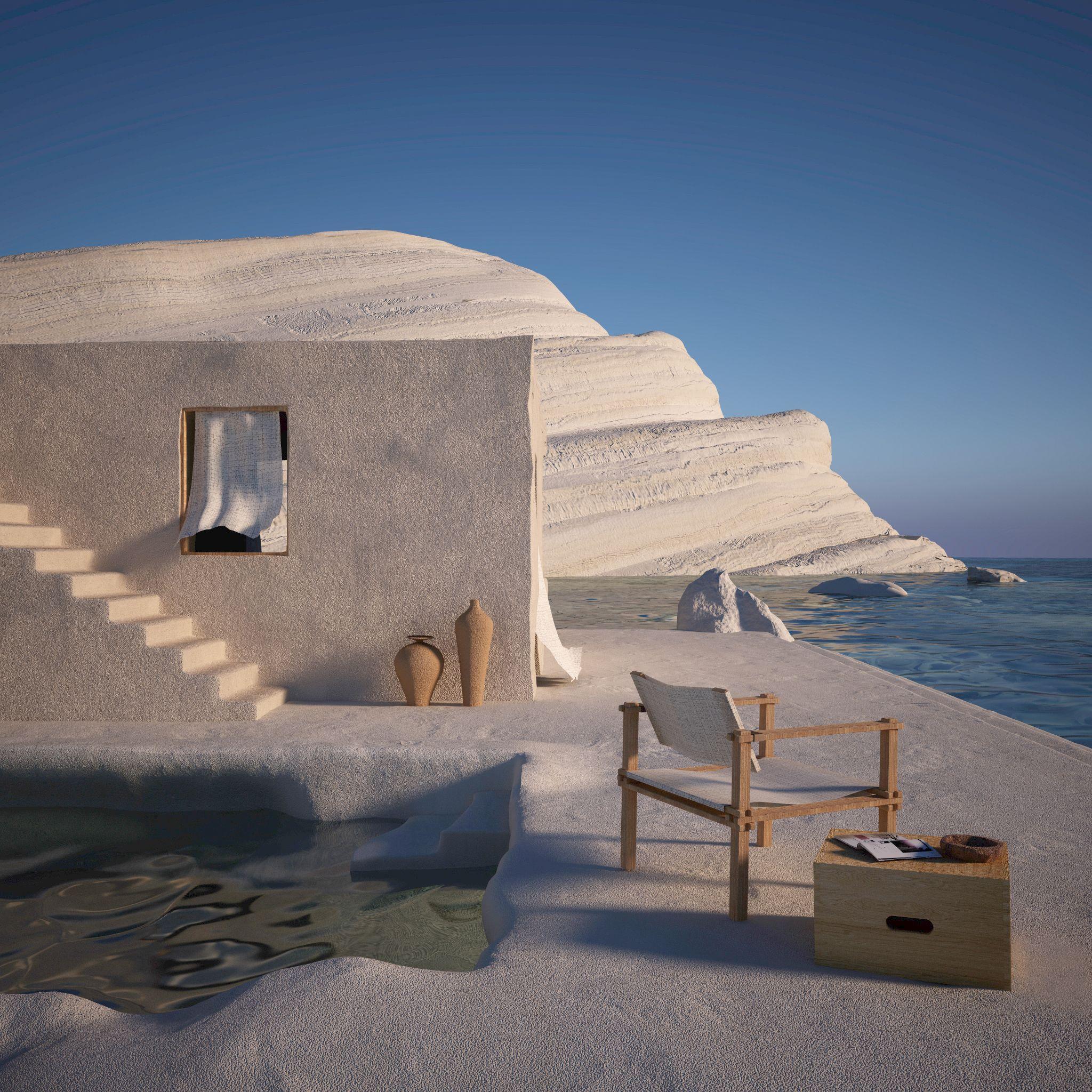 Villa Saraceni Alla Scala Dei Turchi Picture Gallery In 2020 Futuristic Architecture Virtual Design Villa