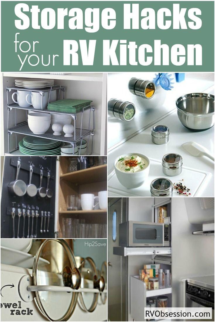 Small Kitchen Storage Ideas | RV Obsession