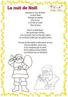 Poème La Nuit De Noël à Imprimer Poeme Noel Nuit De