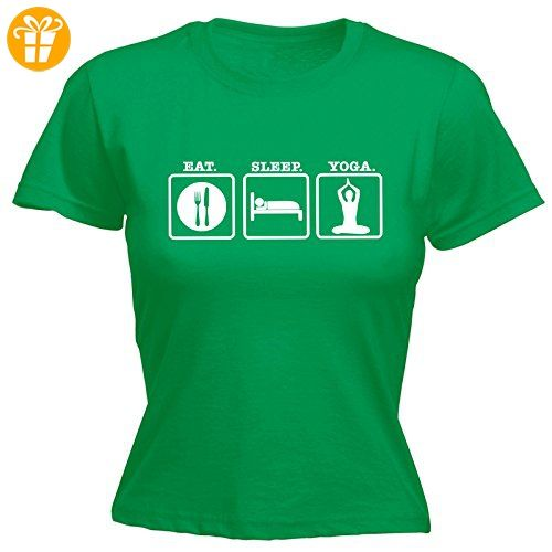 Fonfella Slogans Damen T-Shirt, Slogan Grün Kelly Green Large - Shirts mit  spruch