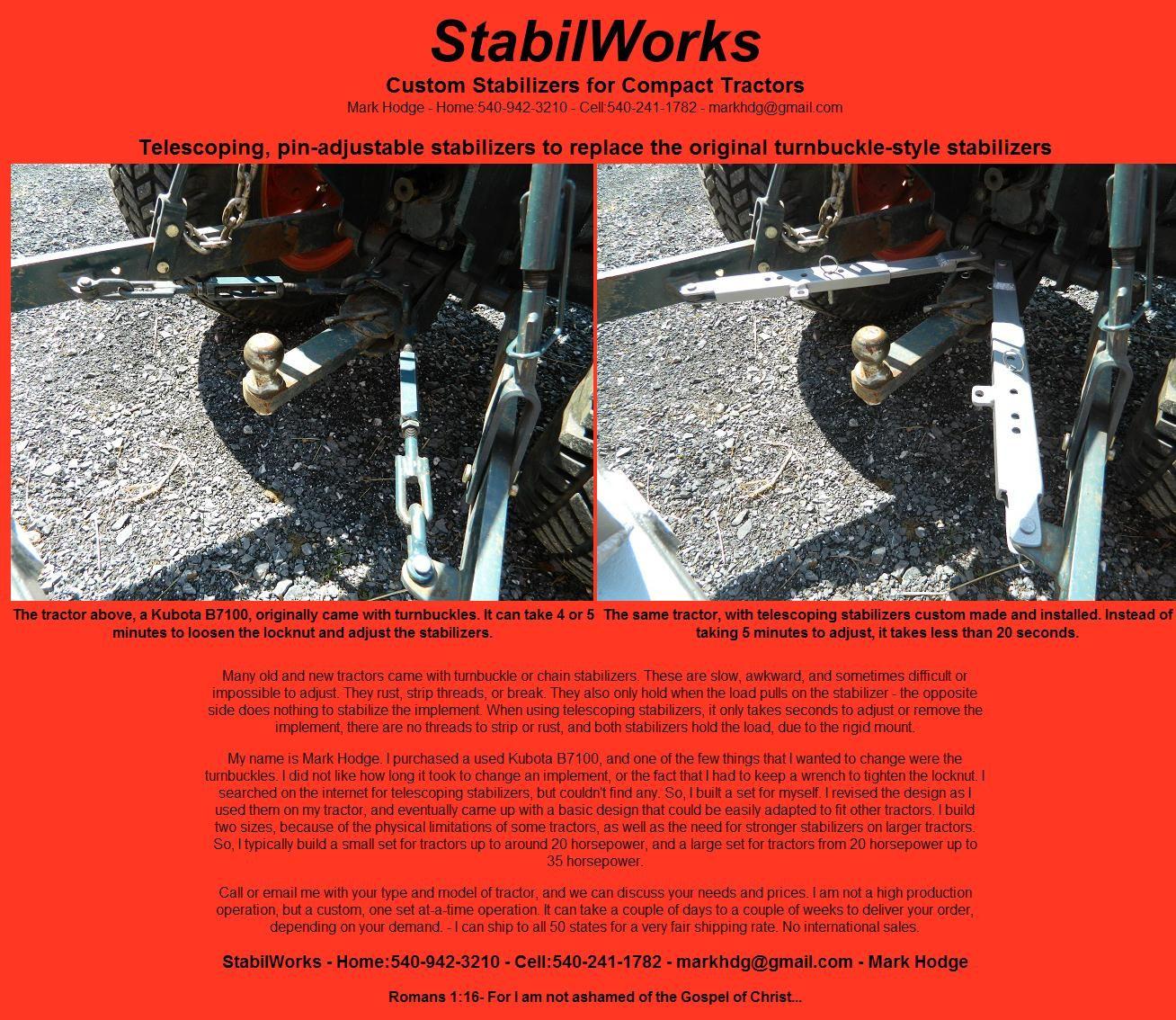 StabilWorks | Mower bucket | Business opportunities