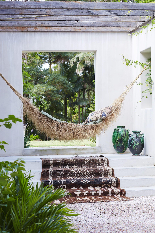 Raffia hammock handmade in mexico vintage moroccan umilk u money