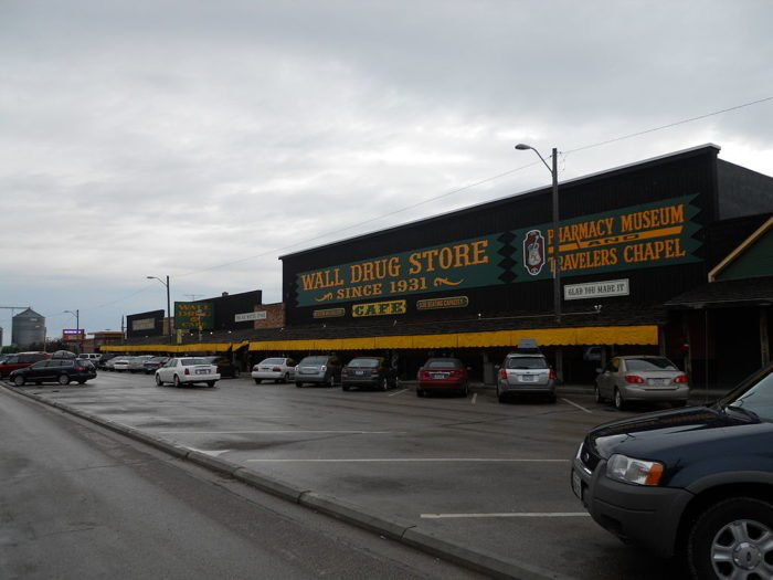 interstate 90 in south dakota will take you through these on wall drug id=31653
