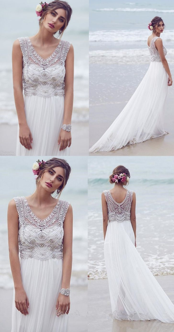 Wedding dress with long train  Appealing White Wedding Dresses Long Wedding Dresses Sleeveless