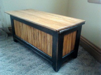 Toy Box Storage Bench Chest Seating Hope By Redmanwoodworks
