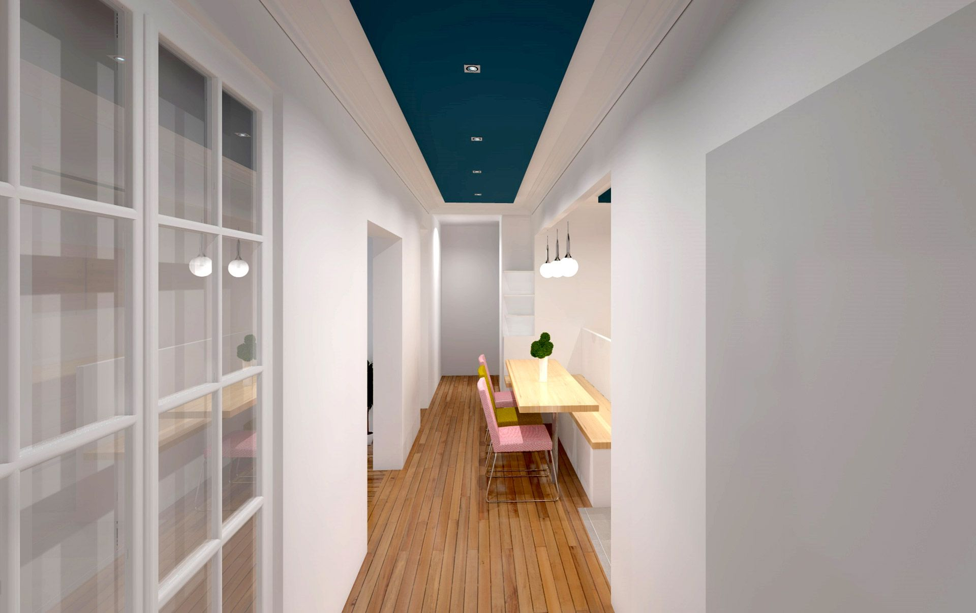 appartement rangements art d co 15 me arrondissement cuisine pinterest interieur. Black Bedroom Furniture Sets. Home Design Ideas