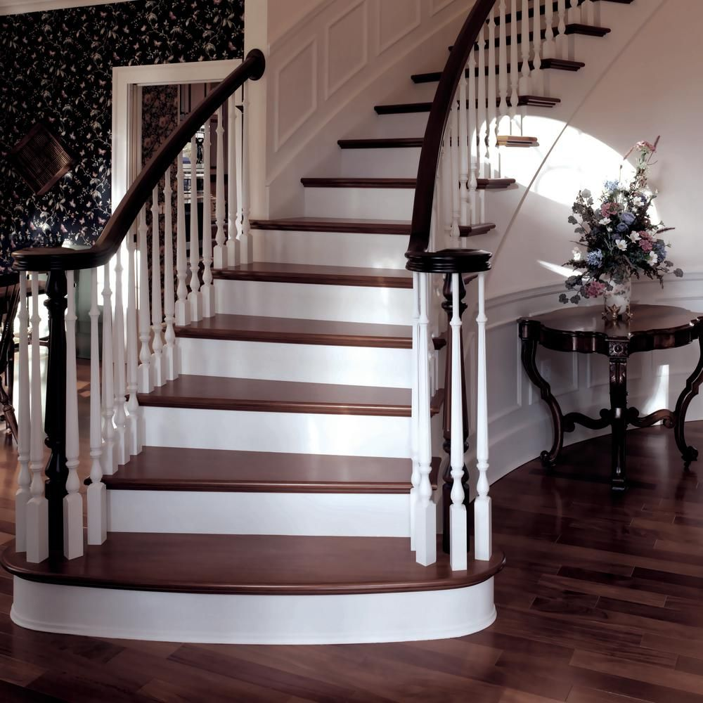 Best Stair Parts 41 In X 1 3 4 In 2715 Primed Wood Pin Top 400 x 300
