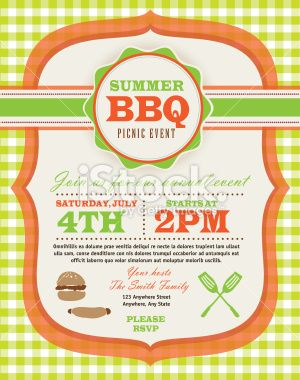 Picnic Invitation Design Template  Picnic Invitations Invitation