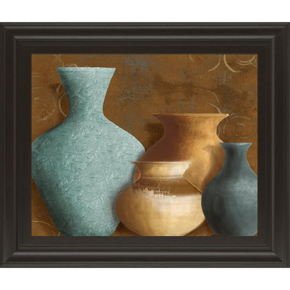 "22 in. x 26 in. ""Ancient Clay I"" by Lanie Loreth Framed Printed Wall Art"