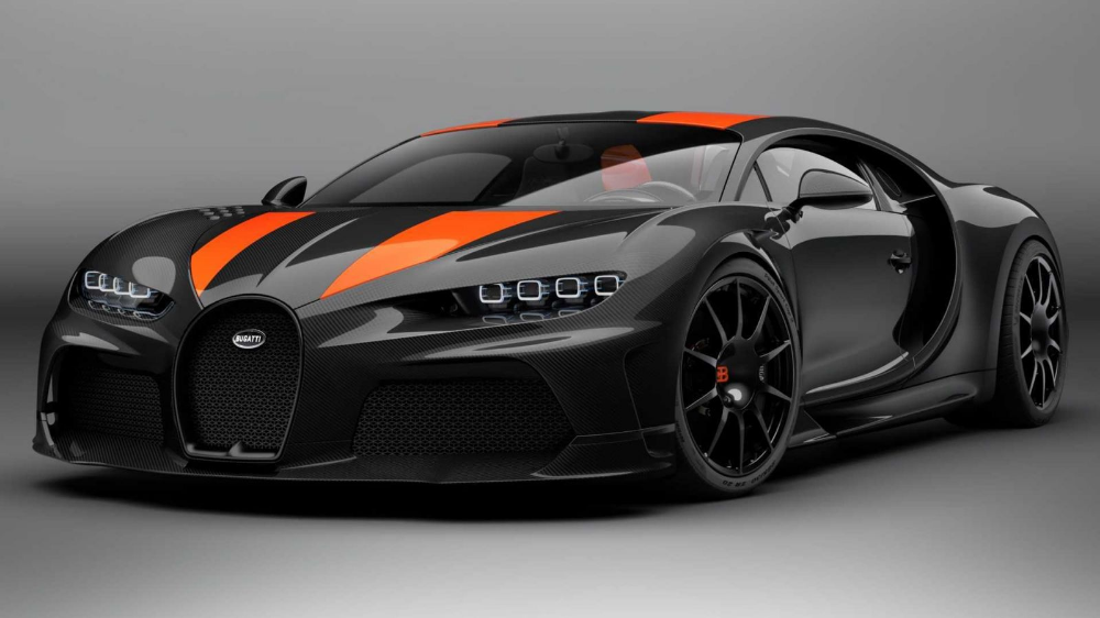 The Bugatti Chiron Super Sport 300+ Is A $4 Million Salute To Breaking The 300 MPH Barrier