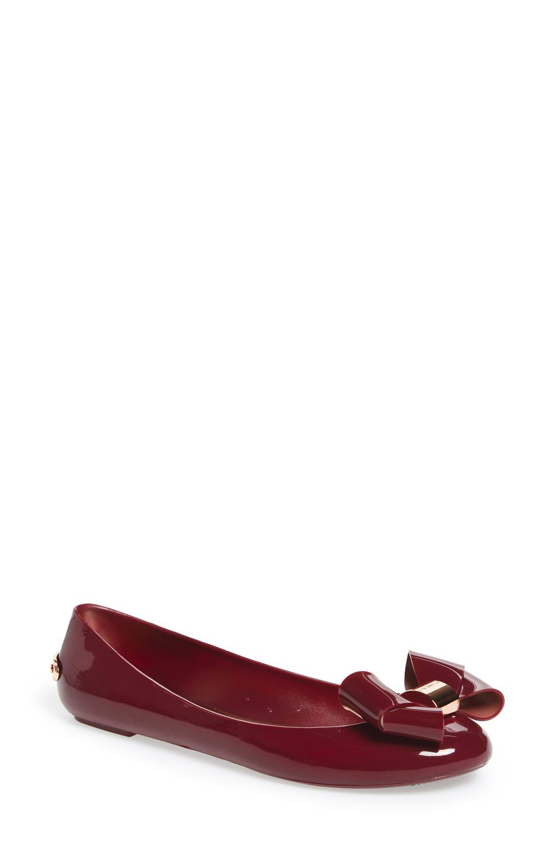 667a7bc592530d Ted Baker London  Faiyte  Bow Jelly Flat (Women)