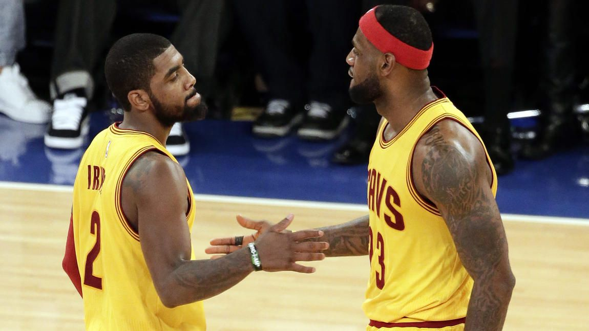 Young teammates see LeBron James as somewhat of a sage ...Kyrie Irving Sage