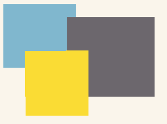 Vintage color scheme blue grey yellow crochet for Blue and yellow paint combinations