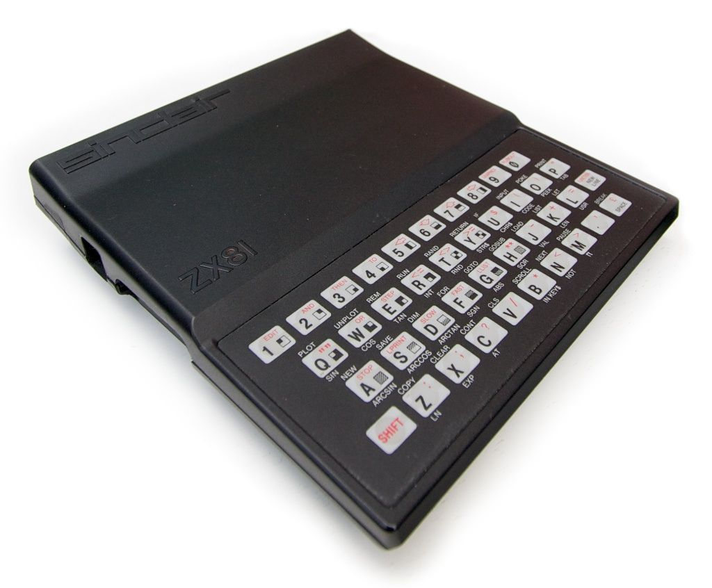 """Sinclair ZX81"" by hairydalek #8-bit #sinclair #ZX81"